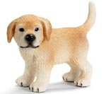 Schliech Golden Retriever Puppy Standing - 16378