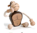 AnamalZ Gorilla Wooden Figure