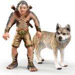 Schleich - Bayala Gregis and Wolf - 70431
