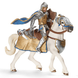 Schleich - Griffin Armoured Knight with Warhammer and Warhorse - 70108