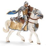 Schleich - Griffin Armoured Knight with Warhammer and Warhorse - 70108
