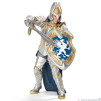 Schleich - Standing Griffin Knight with sword - 70110