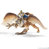 Schleich - Griffin Rider Knight and Griffin 70107