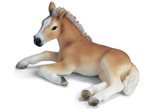 Schleich 13292 Haflinger Foal (lying) RETIRED