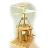 Leonardo Da Vinci Helicopter Wooden Construction Kit