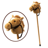 Plush Hobby Horse with Sound Effects