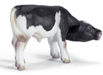 Schleich 13615 - Holstein Calf Suckling - RETIRED