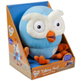 Plush Talking Hoot 17cm.