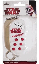 Star Wars - Red and White In Your Pocket Keychain