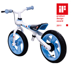 JD Bug Balance Bike - Blue - 2011