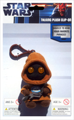 Star Wars - Jawa 4 Inch Talking Plush Clip On