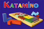 Katamino wooden building game
