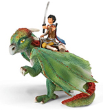 Schleich - Kishay Dragon Rider and Nugur - 70447