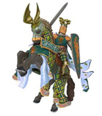Papo - Dragon Knight & Rearing Horse