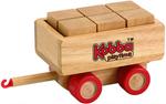 Kobba Playtime Block Carriage - Wooden