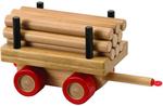 Kobba Playtime Log Carriage - Wooden