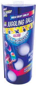 L.E.D. Juggling Balls