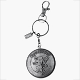 Game of Thrones Lannister Shield Keychain Fob