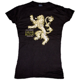 Game of Thrones Lannister House Tee Shirt Female Fit