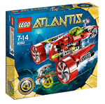 LEGO ® Atlantis Typhoon Turbo Sub - 8060