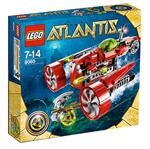 LEGO ® Atlantis Typhoon Turbo Sub - 8060