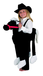 Kids Safari Wrap'n'Ride Liquorice Horse