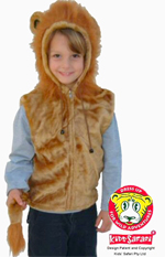 Kids Safari Lion Hooded Jacket
