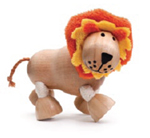 AnamalZ Lion Wooden Figure