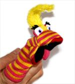Finger Puppet - Lipstick