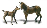 Papo Thoroughbred Mare and Foal