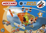 Meccano Build and Play 4 Model Helicopter Set - 735106