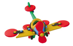 mic-O-mic Small Plane Dragonfly Construction Kit