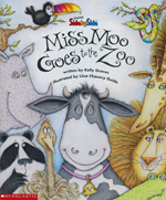 Miss Moo Goes to the ZOO - by Kelly Graves