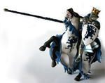 Papo Blue Dragon King and Horse