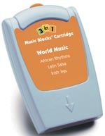 3 in 1 Cartridge for Music Blocks or Jumbo Music Blocks