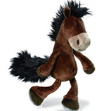 Nici Horse Club Dangling Brown Plush Horse 35cm