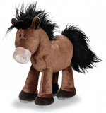 Nici Horse Club Standing Brown Plush Horse 30cm