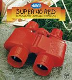 Navir Super 40 Red Binoculars