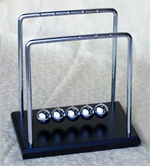 Newtons Cradle Wooden Base