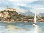 Reeves Senior Watercolour By Numbers - Lake maggoire
