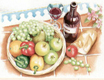 Reeves Senior Watercolour By Numbers - Artists Collection Still Life