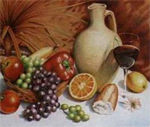 Reeves Senior Watercolour Pencil By Numbers - Still Life Fruit