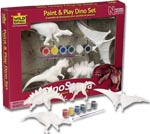 Dinosauria Paint and Play Set
