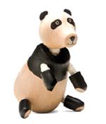 AnamalZ Panda Wooden Figure