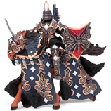 PAPO 38978 Dark Butterfly Warrior Knight with Horse