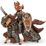 PAPO 38986 Dark Beetle Warrior Knight with Horse