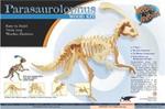 Parasaurolophus Wooden construction kit