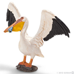 Schleich Pelican with Fish - 14637