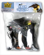 Polybag of Five Assorted Penguins