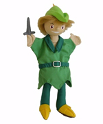 Peter Pan - Character Hand Puppet